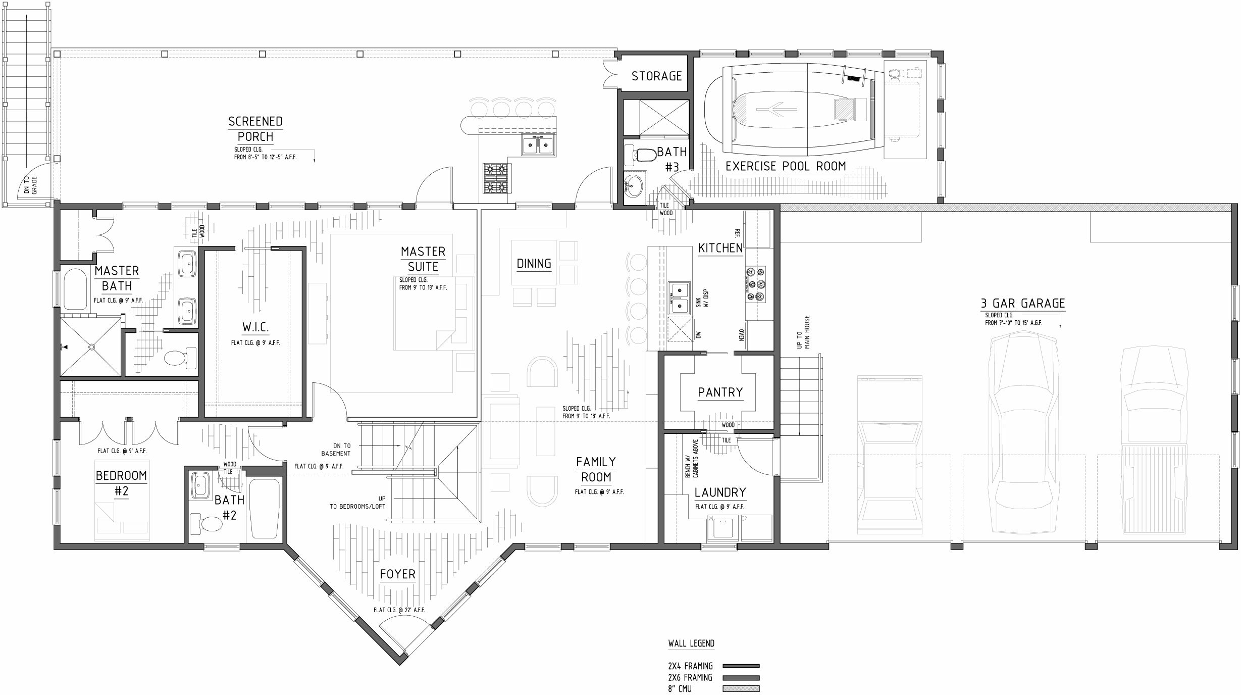 off grid house in new england main floor plan