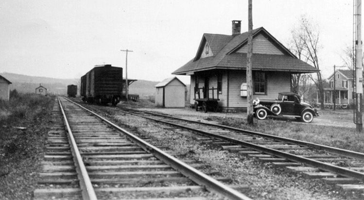 Anybody Want To Live In An Old Train Station I Could Live