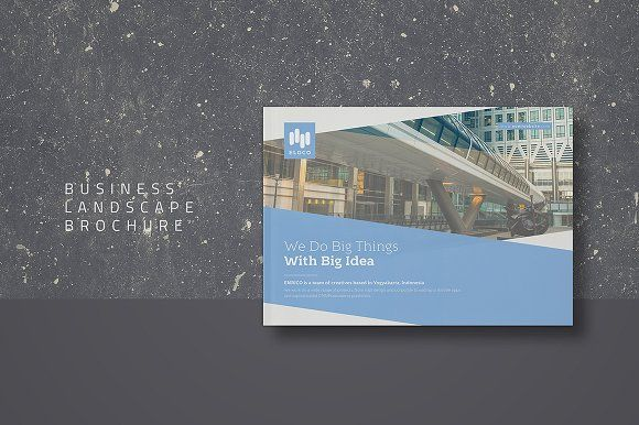 Business Landscape Brochure Creativework  Brochure Design