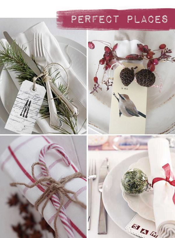 Christmas Place Settings place settings | craft ideas | pinterest | christmas place and