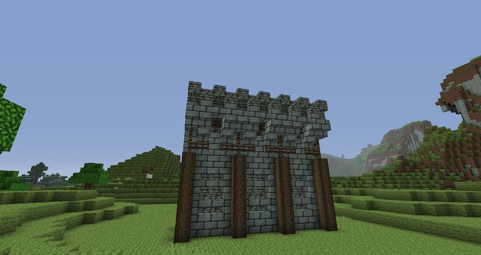 Walls for neitherspine going to modify these quite a bit for Minecraft exterior design ideas