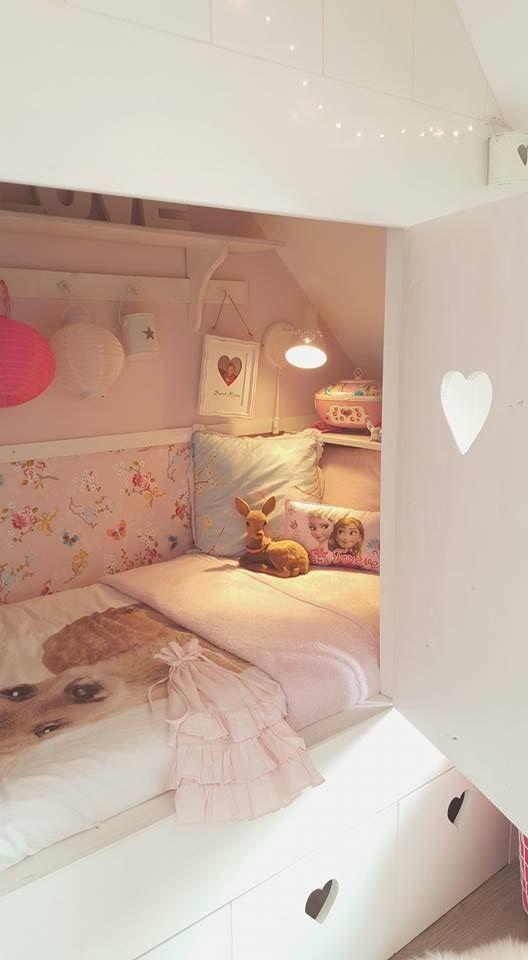 Mooie Slaapkamer Voor Kinderen.Prachtige Meiden Kamer Bedstee Kinder Kamers In 2019