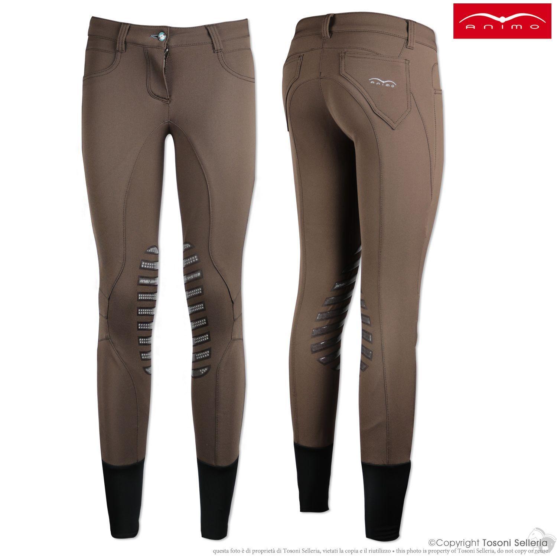 Pantaloni Donna Animo Newil Equestrian Riding Breeches