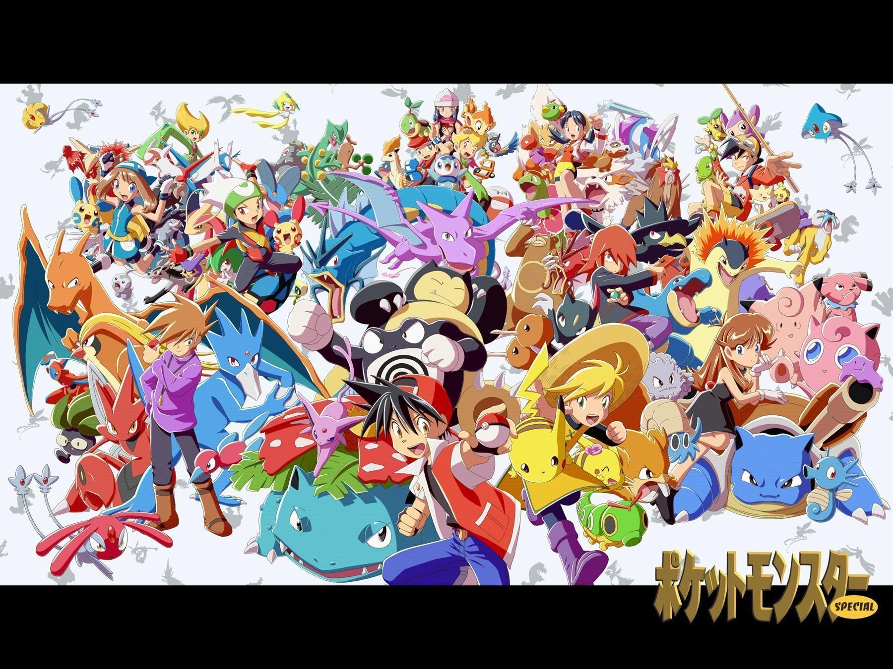 Pokemon Adventures Wallpapers Wallpaper Cave