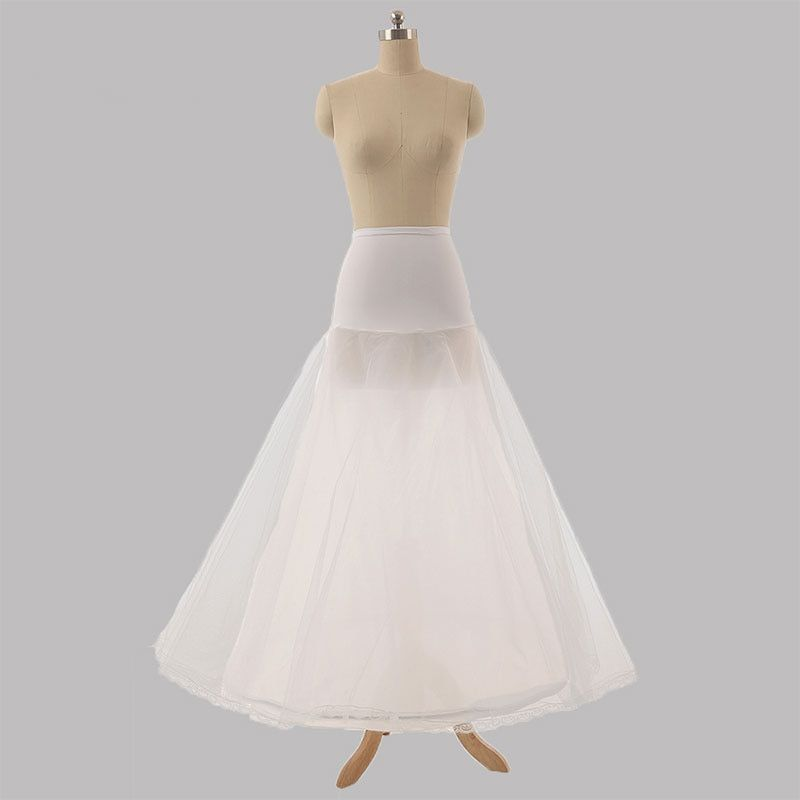 Photo of Long Tulle Wedding Petticoat Black A Line Cheap Bridal Under…