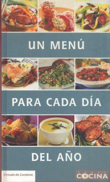 un menu para cada dia saludable