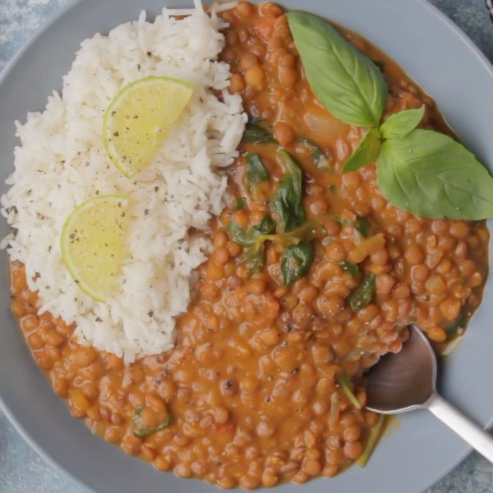 Vegan Lentil Curry images