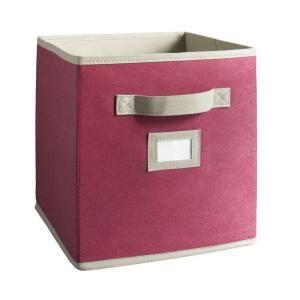 Martha Stewart Living Sugared Pink Fabric Drawer ClosetMaid 4910 10.5 x 11