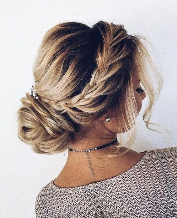 70 Pretty Updos For Short Hair 2019 Casual Hair Up Cute Wedding Hairstyles Hair Up Styles