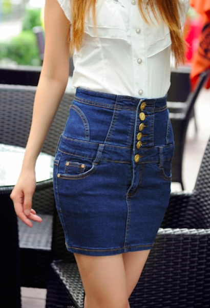 f8fc4c330 Super Sexy Pencil Jeans Mini Skirt in 2019 | JetSet | Jean mini ...