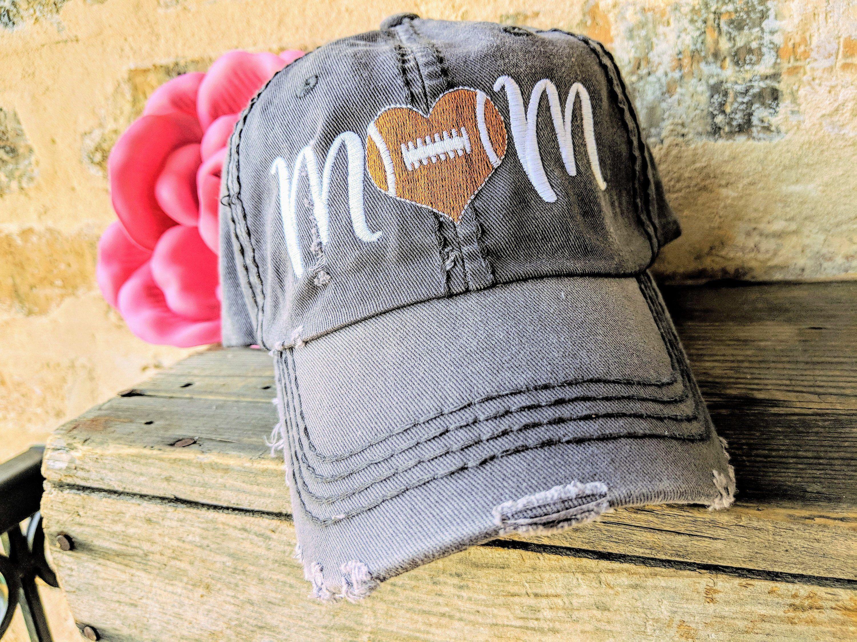 Football Mom Hat Football Team Hat Football Mom Football Mom Baseball Cap Football Football Mom Clothing Footba Mom Hats Football Mom Football Mom Gifts
