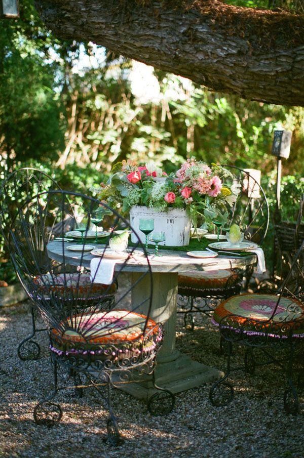Vintage Garden Wedding Ideas   Pinterest   Vintage gardening, Garden ...