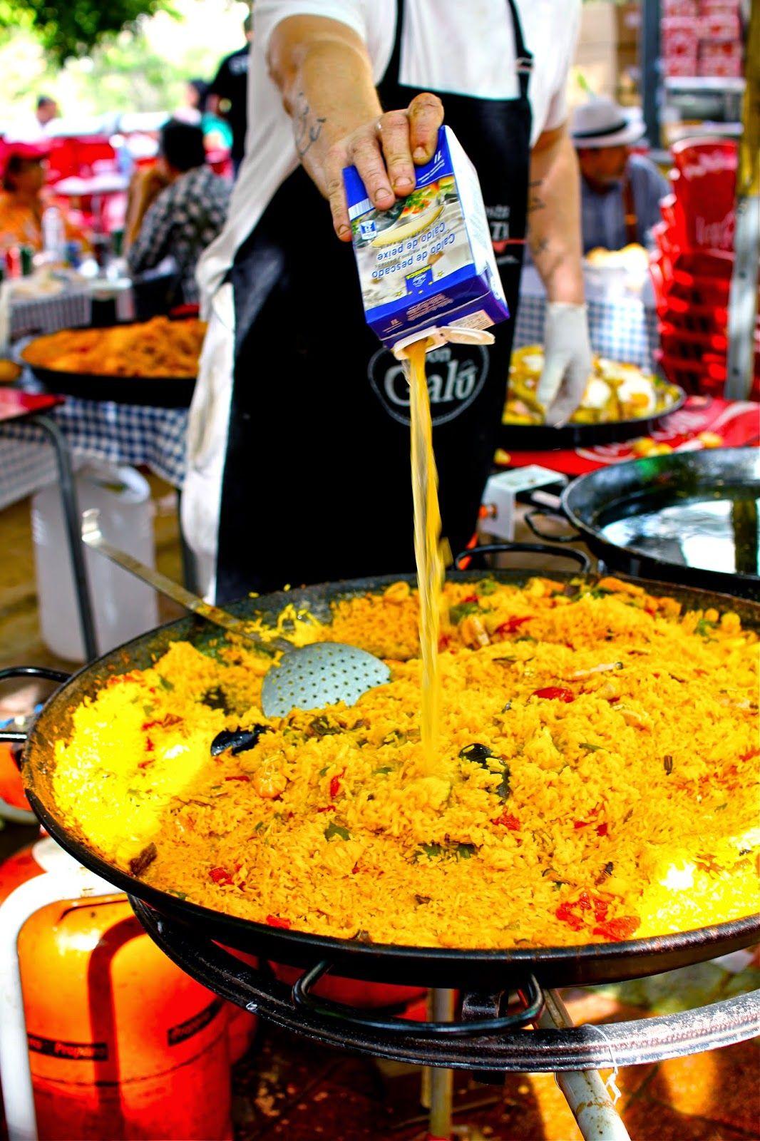 Celebrating madrids san isidro festival paella in 2020