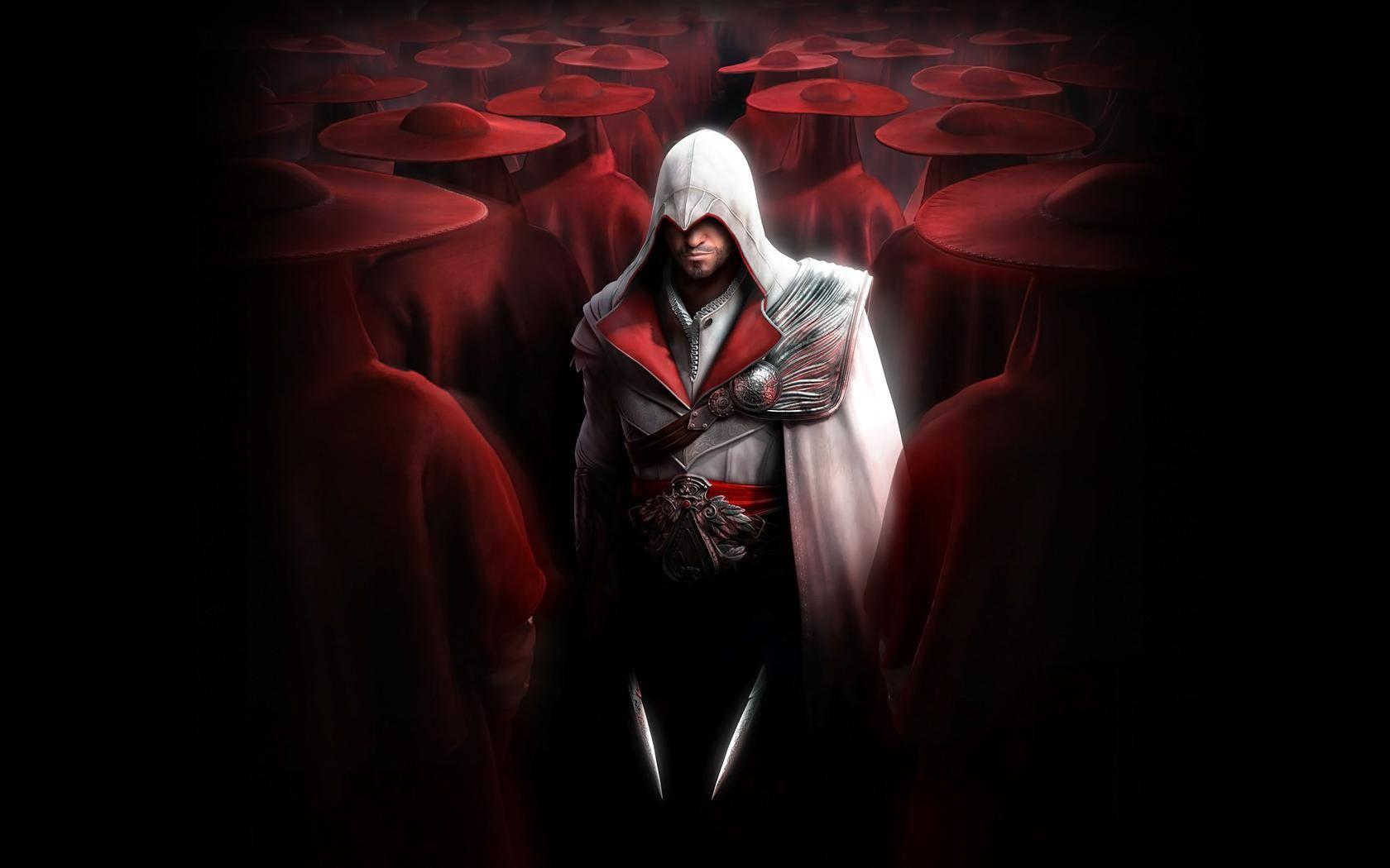 Ezio Auditore Brotherhood Assassins Creed Assassin S