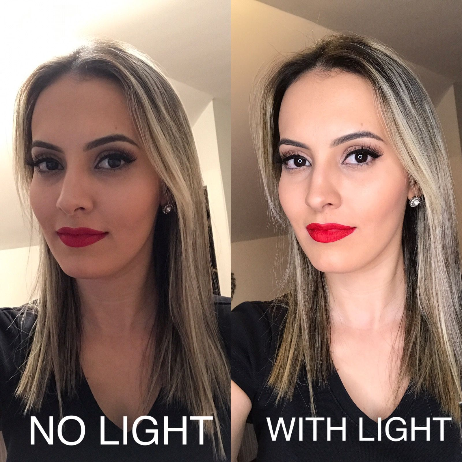 Makeup Light is a MUST HAVE! Using the Neweer Ring Light | Light makeup,  Makeup, Light