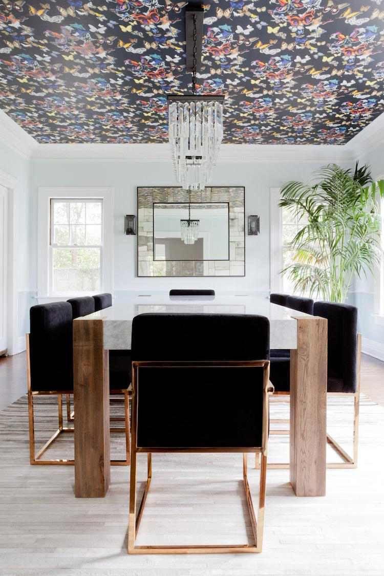 Papier peint plafond : votre meilleur allié déco pour 2018 ! | Déco ...