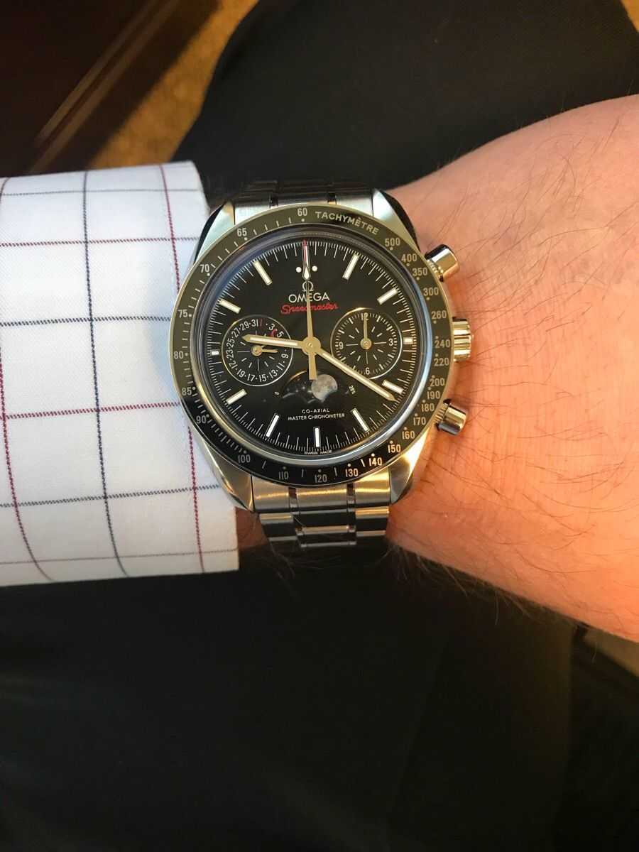 Omega Speedmaster Moonphase Master Co Axial Https Ift Tt 2q6onbl Luxury Watches For Men Omega Watches For Men