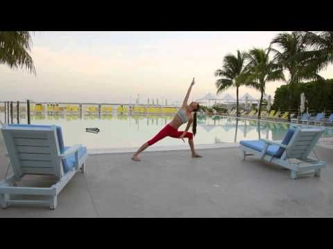 morning yoga with tara stiles  youtube  morning yoga