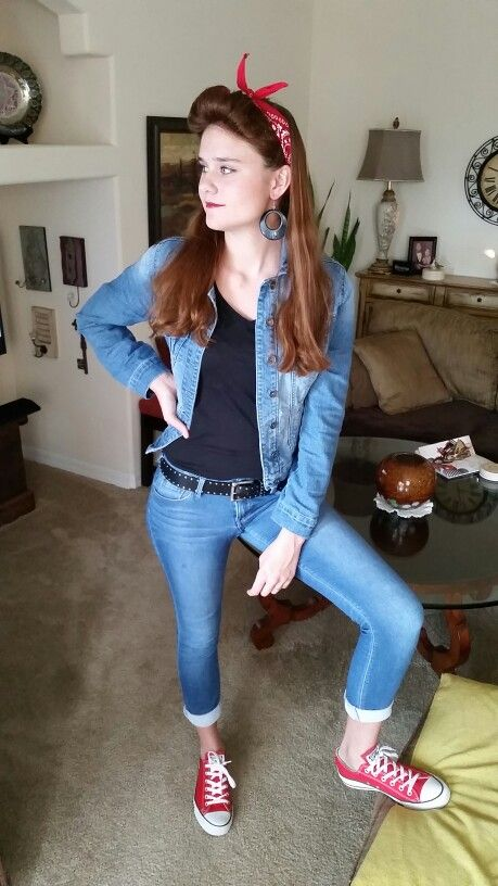 Greaser Costume \ - greaser halloween costume ideas