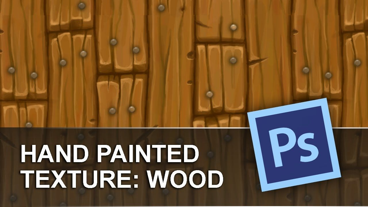 Hand Painted Wood Texture Tutorial In Photoshop By Fongoose