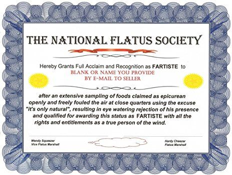 Image result for funny office certificates   Funny certificates in ...