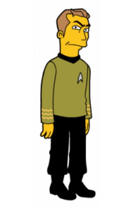 Pin By Wayne Wood On Simpsonsized Star Trek Original Series