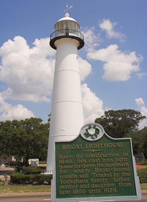 Mississippi Gulf Coast Google Images Biloxi Lighthouse