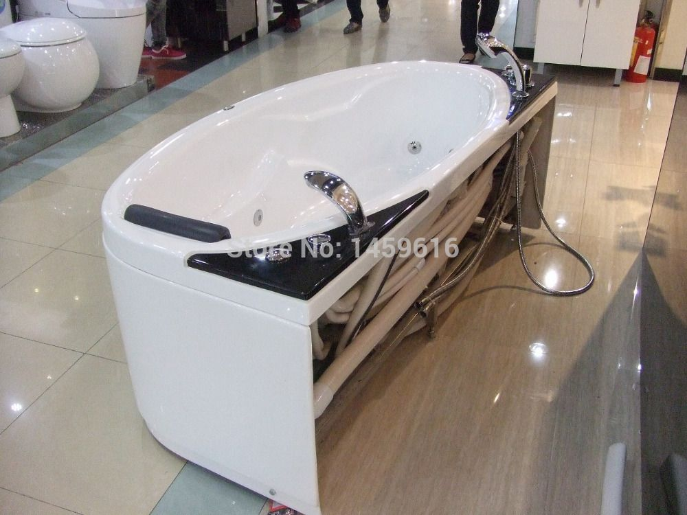 67\' Ocean Shipping Acrylic Massage Tub Curve Unique Design Whirlpool ...
