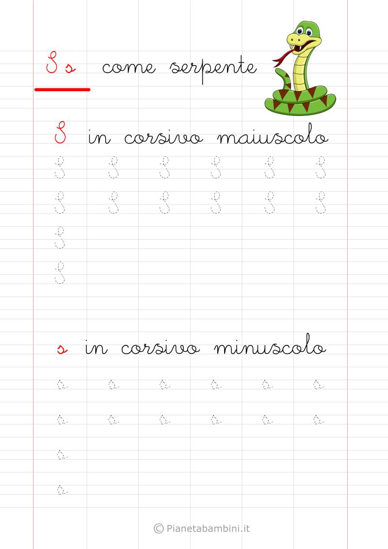 Lettere Alfabeto Da Copiare schede di pregrafismo delle lettere dell'alfabeto da