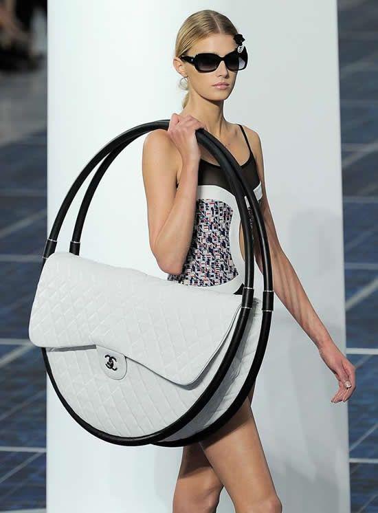 Oversized White Chanel Quilted Bag Fun Handbags Australia Summer