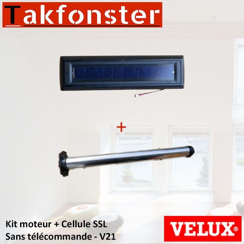 Kit Moteur Cellule Ssl Sans Telecommande V21 Velux En 2020