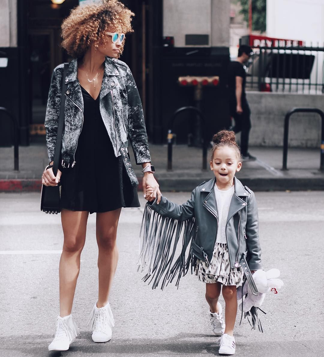 The Fashionista Mom and daughter