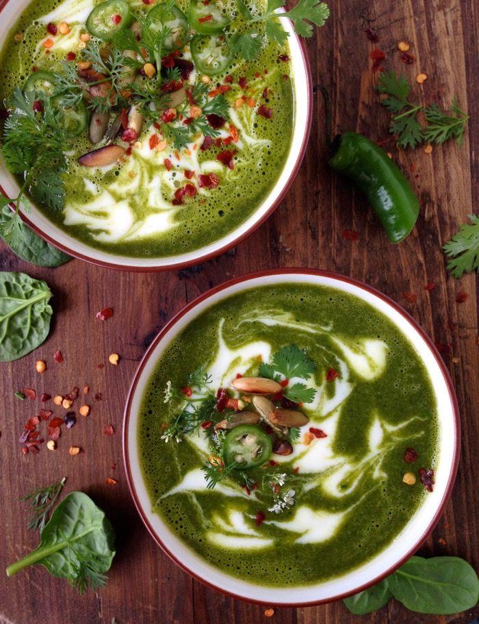 White Bowls Of Vegetarian Kale Soup On A Wood Table Kale Soup Recipes Kale Sweet Potato Soup Kale Soup