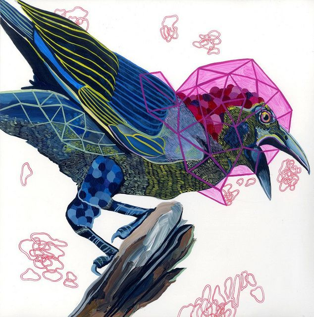 (via Juan Travieso's Design-Oriented, Colorful Paintings | Hi-Fructose Magazine)