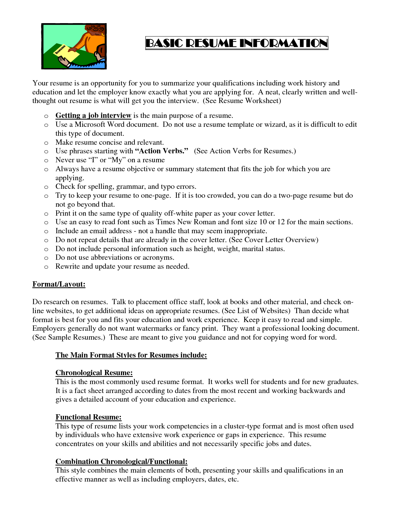 Sample Resume Pdf Basic Resume Template Pdf  Httpwwwresumecareerbasic