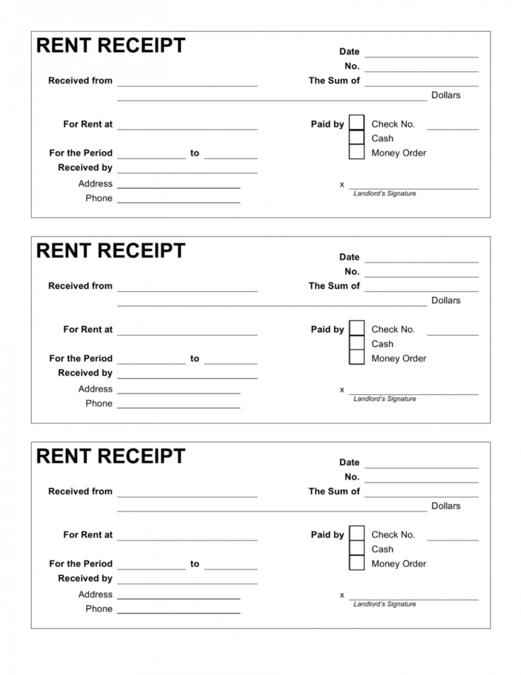 Browse Our Sample Of Rent Receipt Templates Receipt Template Free Receipt Template Being A Landlord