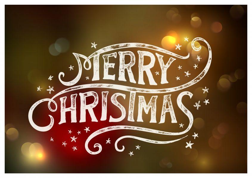 Blurry Christmas | Frohe Weihnachten | Echte Postkarten online ...