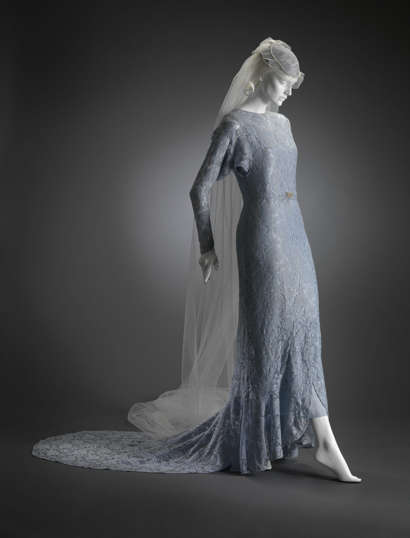 Blue wedding dress belt and headpiece by mary widmeyer mattox