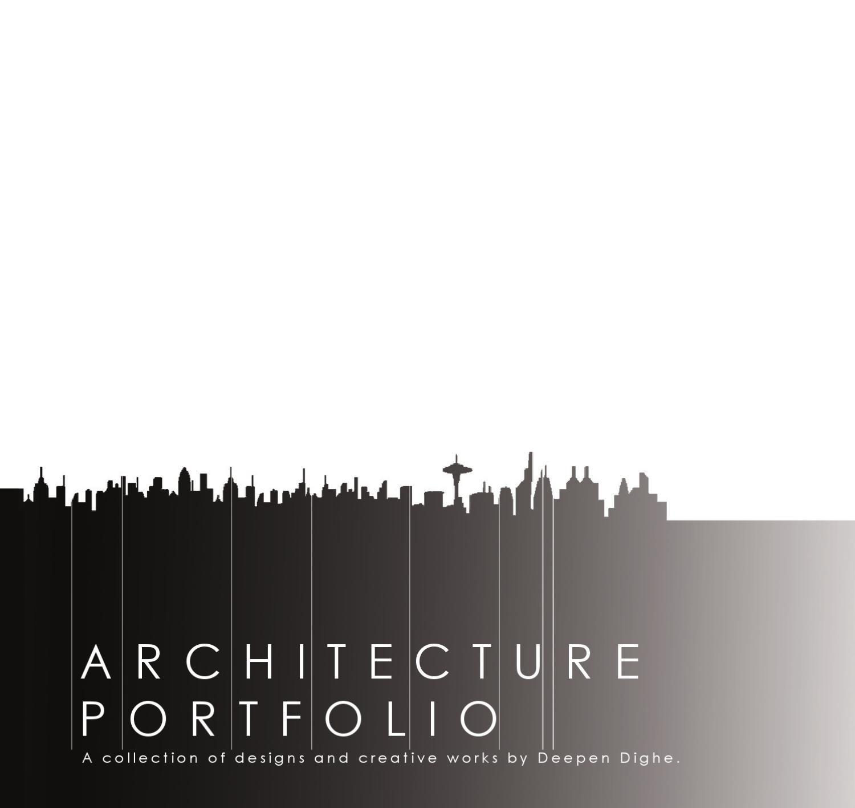 Graduate Architecture Portfolio Rendering & Presentation