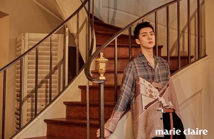 Sehun   Marie Claire