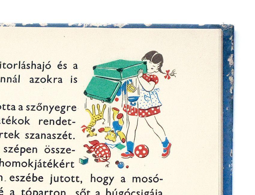 Pöttyös Panni a Balatonon, 1956 -  F. Györffy Anna