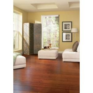 Home Legend Hand Scraped Seneca 3/8 in. Thick x 4 in. Wide x 38-5/8 in. Length Solid Bamboo Flooring (25.76 sq. ft. / case)-HL607 at The Home Depot