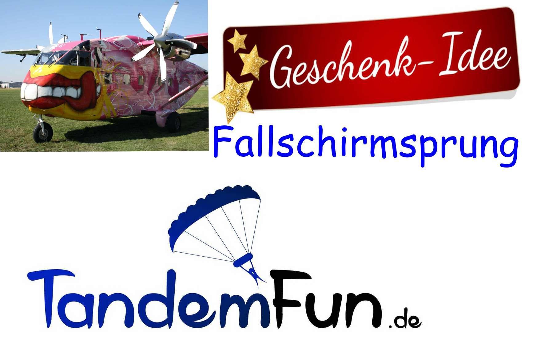 Fallschirmspringen Tandemsprung Geschenk Gutschein Einen Fallschirmsprung in Klatovy Tschechien erlebst Du mit Edi Engl von Tandemfun