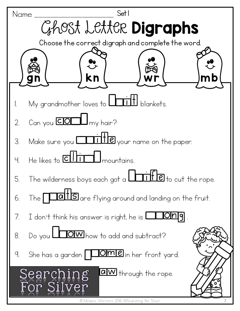 hight resolution of Ghost Letter Digraphs and LOTS of other FUN