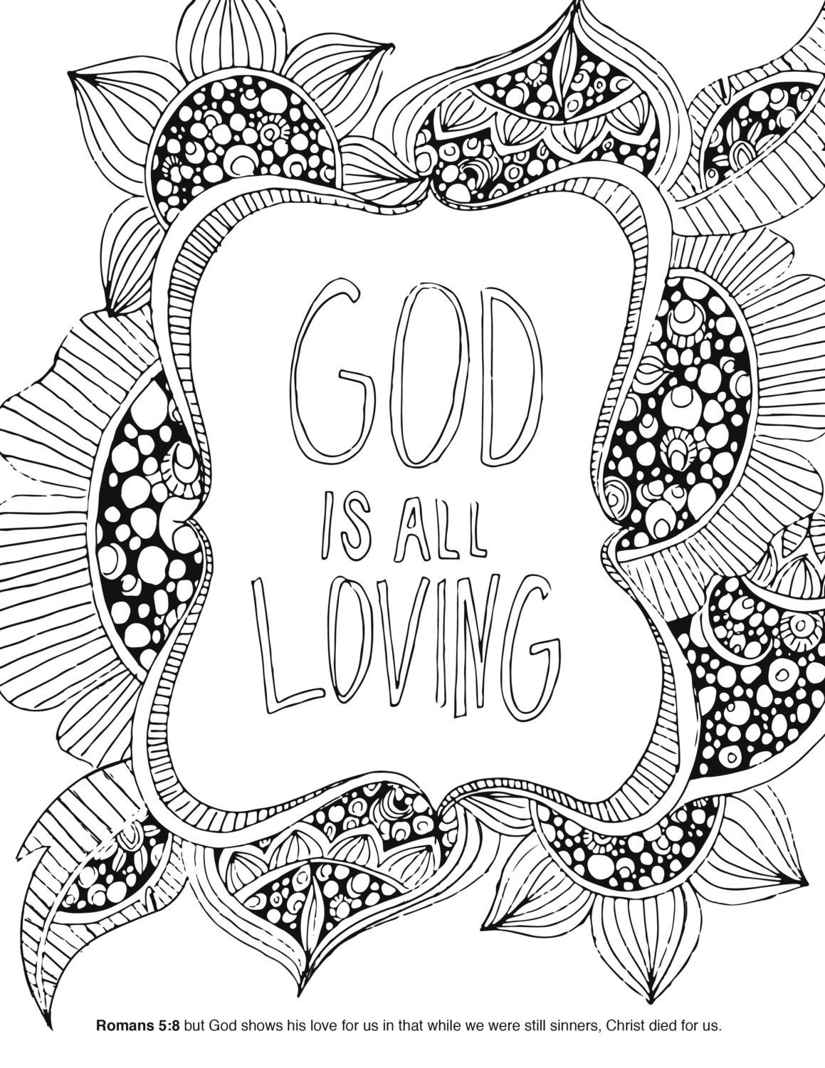 Bible Coloring Book By FanIntoFlames On Etsy Color Me Happy