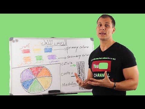345 الدرس الاول في كيفية تعلم تركيب الوان الشعرللمبتدئين خطوة بخطوة شرح مفصل بالكامل تعليم الوان شعر Youtube Tutorial Color Primary Colors