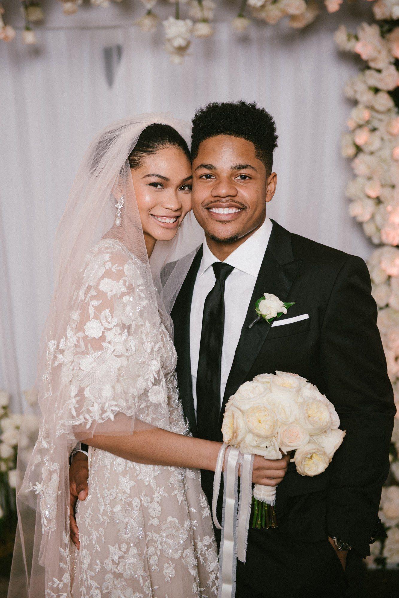 Inside Chanel Iman S Final Wedding Dress Fitting Before She Walked