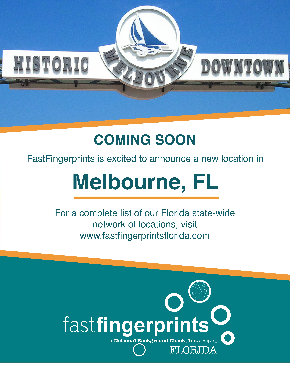 FastFingerprintsMelbourne Florida, Florida state