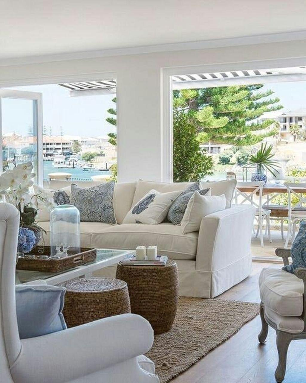 50 Lovely Rustic Coastal Living Room Design Ideas: 50 Elegant House Decor Ideas