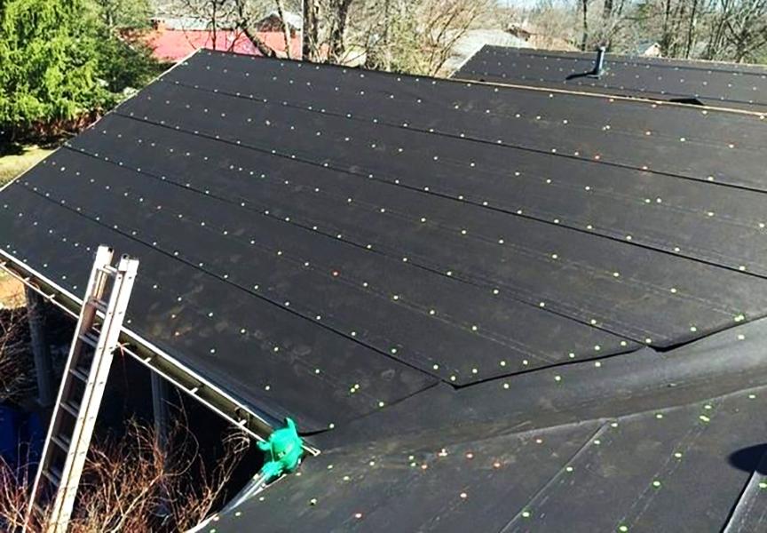 Synthetic Underlayment For Metal Roof Menards In 2020 Roof Installation Standing Seam Metal Roof Metal Roof
